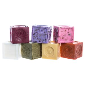 Savon de Marseille with Crushed Flowers Special Assortment