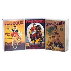 Nostalgie Soap Boxes with Olive Oil Soap